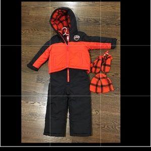 ❄️ Carter's Snow Suit Bibs and Jacket Set